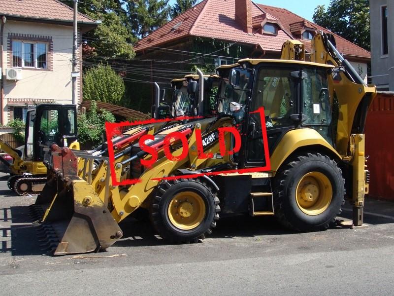 2017 CAT 428 F2_sold