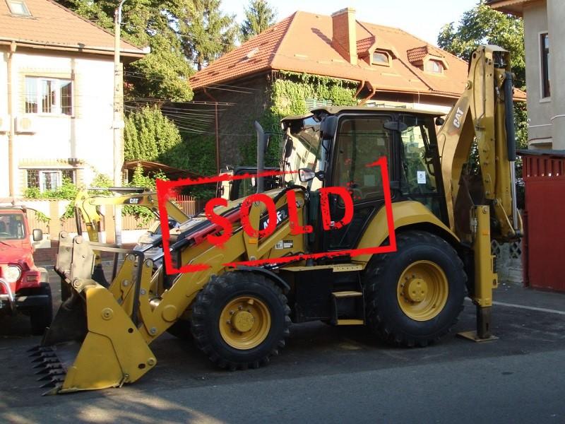 2018 CAT 428 F2_sold